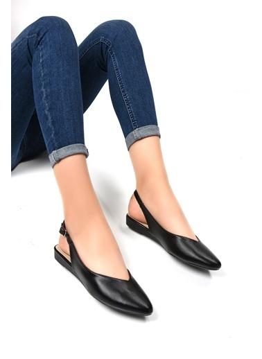 Sapin Sandalet Siyah